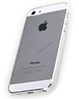 Nắp sau Rock trong suốt cho iPhone 5/5S