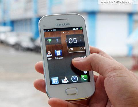Q-Mobile P6 (2 sim)