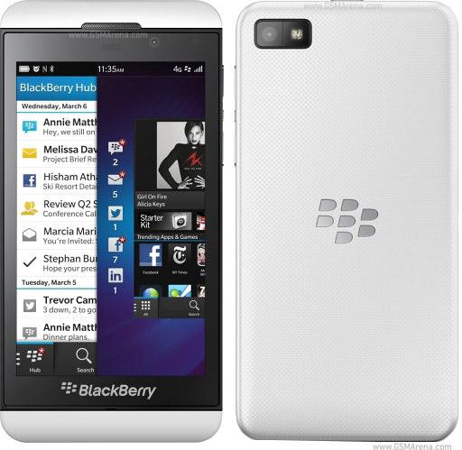 BLACKBERRY Z10 16Gb White (cty)