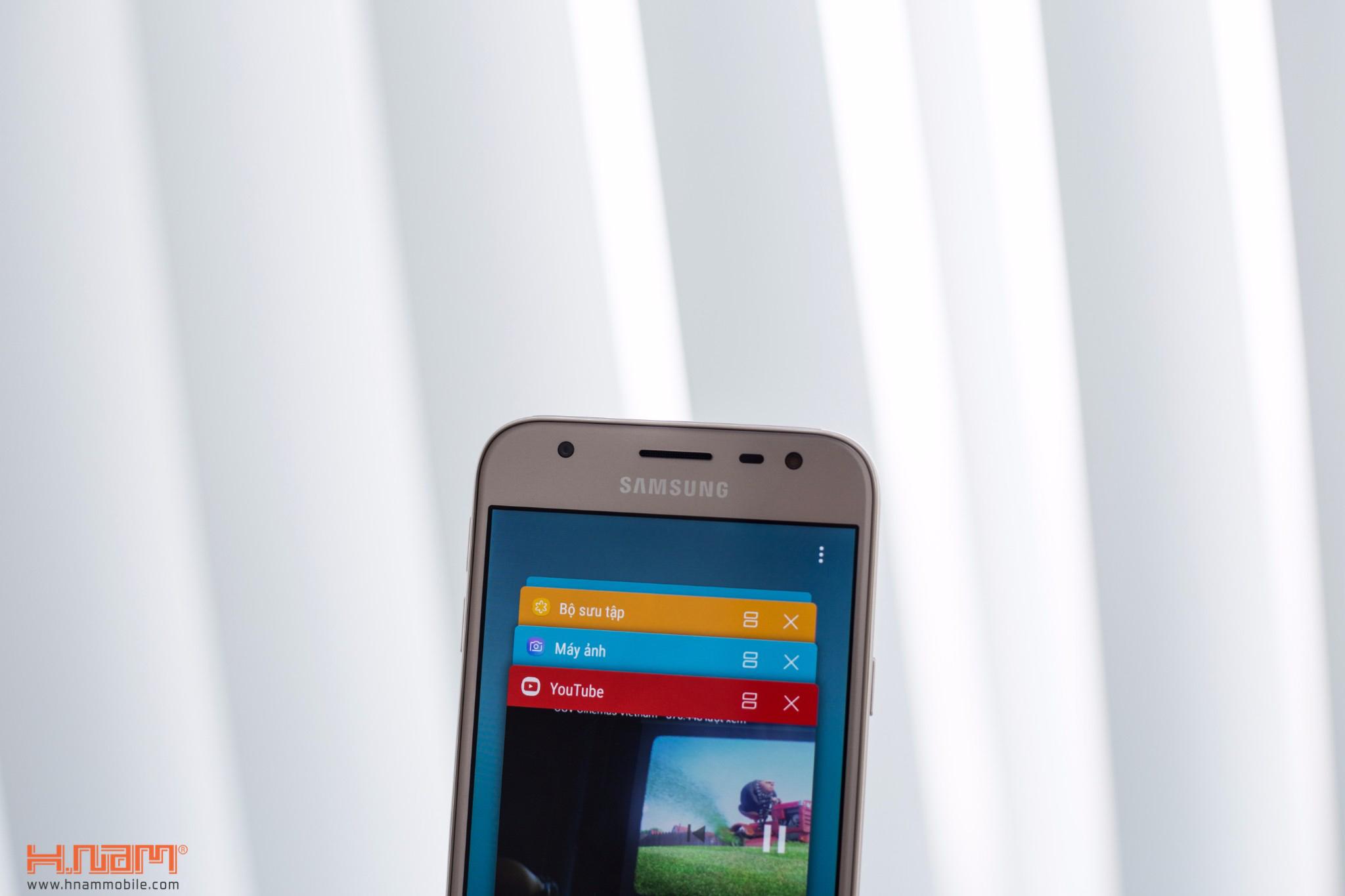 Đập hộp Samsung Galaxy J3 Pro: giá hơn 4 triệu đồng, camera F/1.9 hình 9