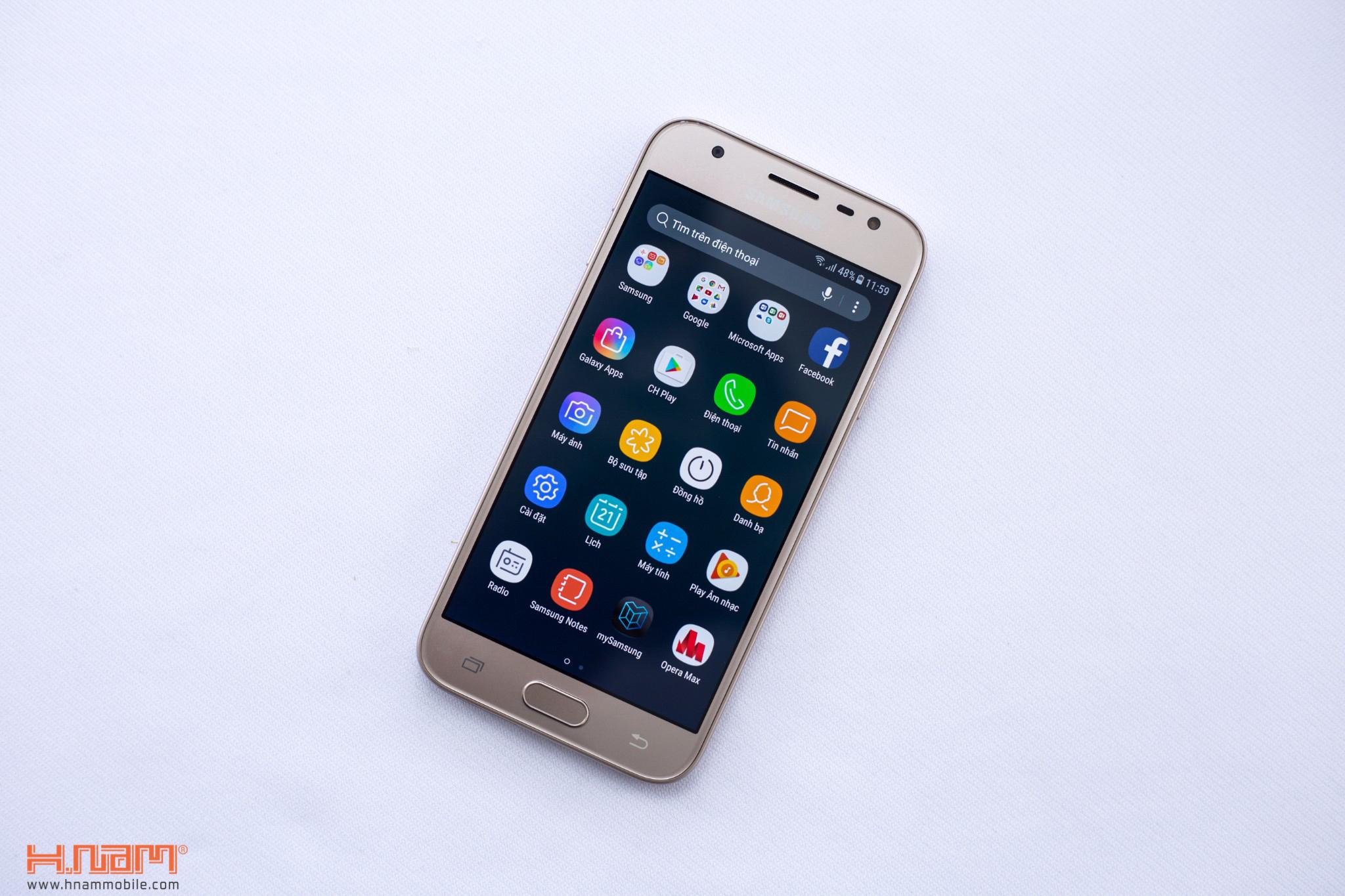 Đập hộp Samsung Galaxy J3 Pro: giá hơn 4 triệu đồng, camera F/1.9 hình 13