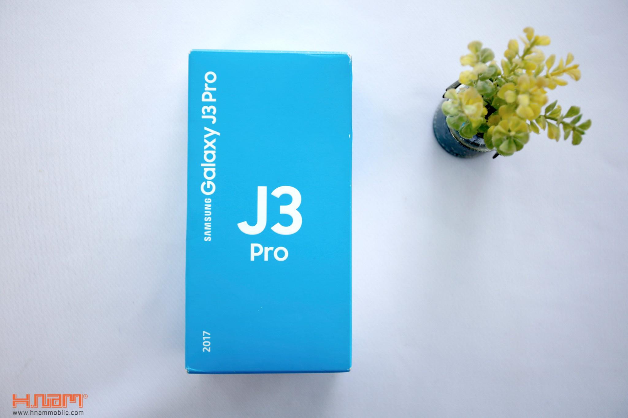 Đập hộp Samsung Galaxy J3 Pro: giá hơn 4 triệu đồng, camera F/1.9 hình 1