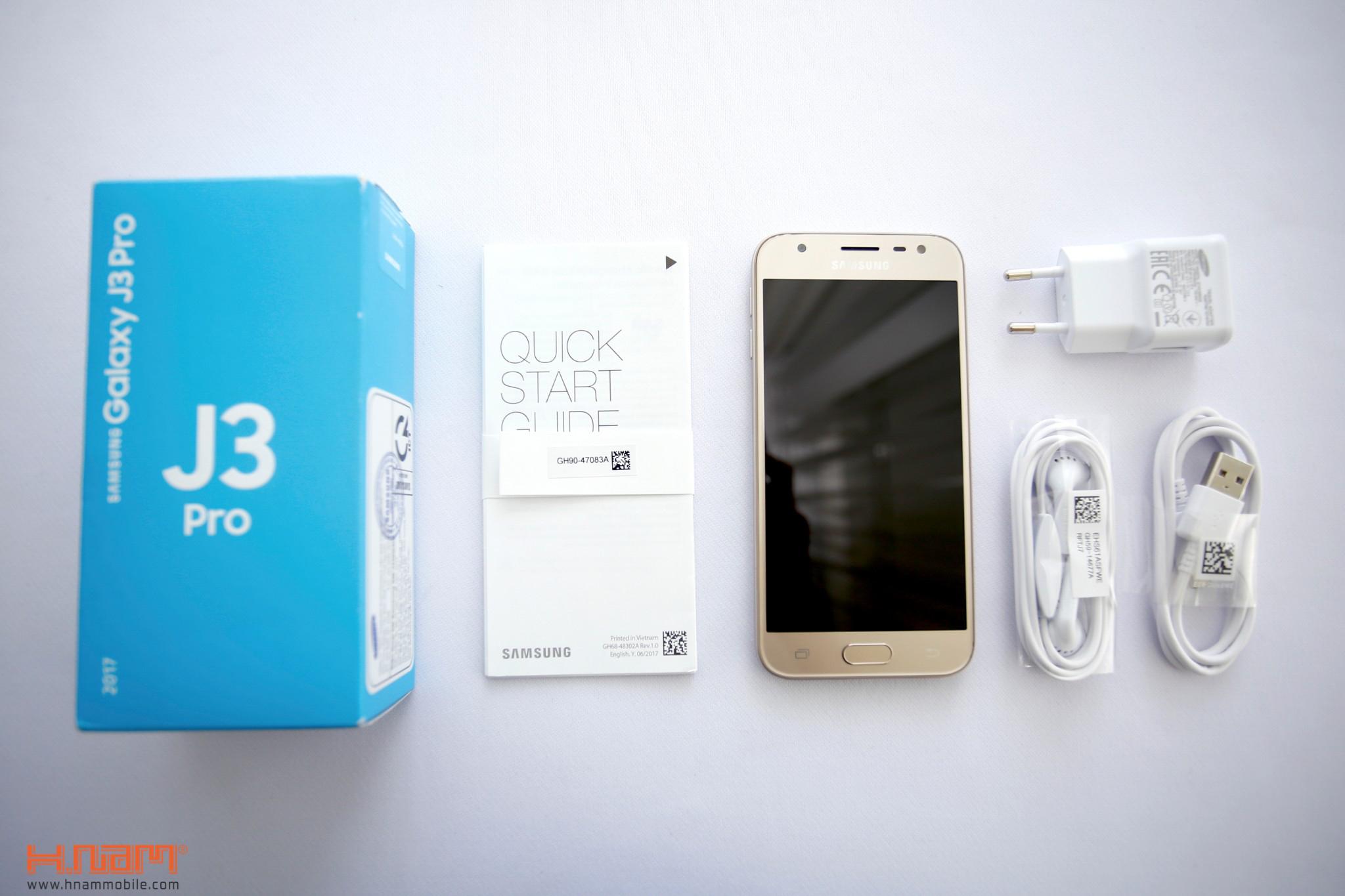Đập hộp Samsung Galaxy J3 Pro: giá hơn 4 triệu đồng, camera F/1.9 hình 2