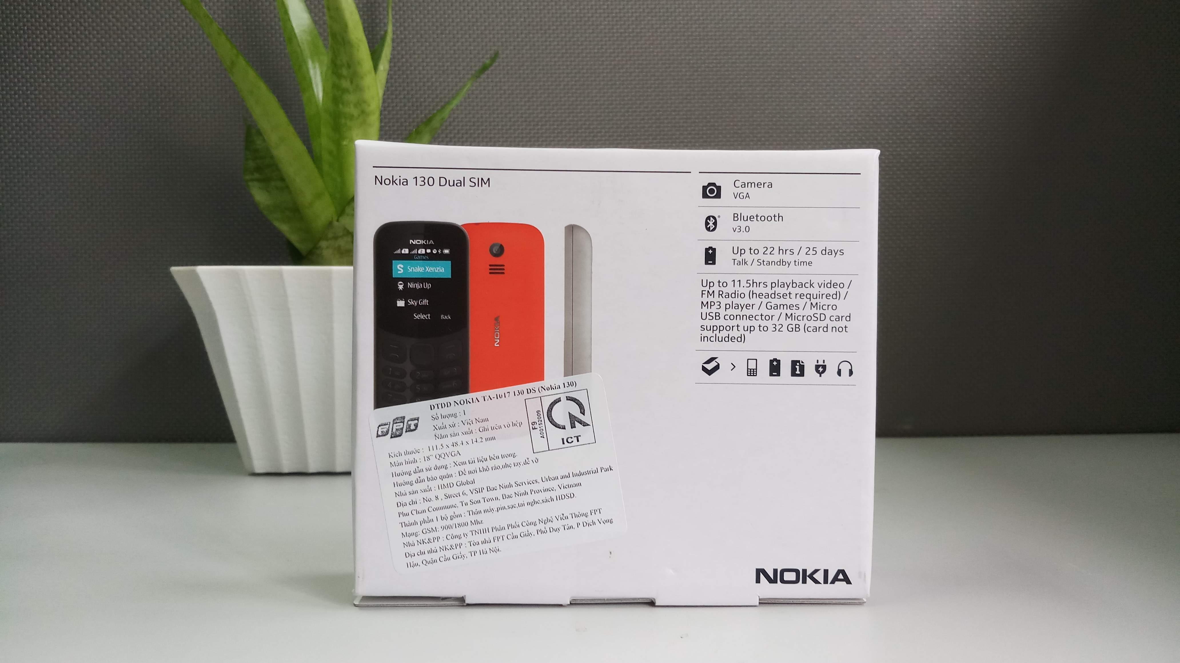 Nokia 130 (2017) hình sản phẩm 0