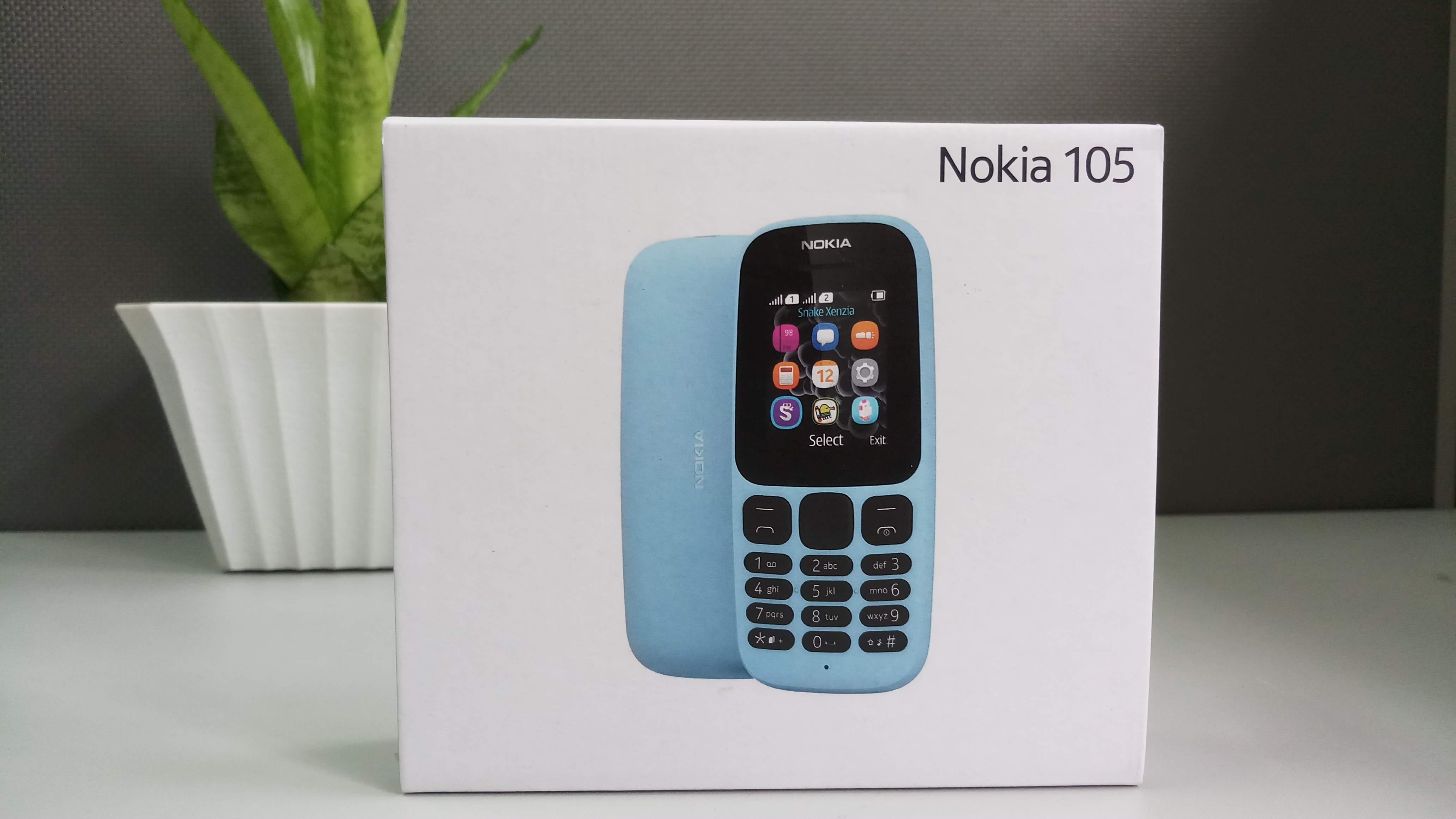 Nokia 105 Dual Sim (2017) hình sản phẩm 0