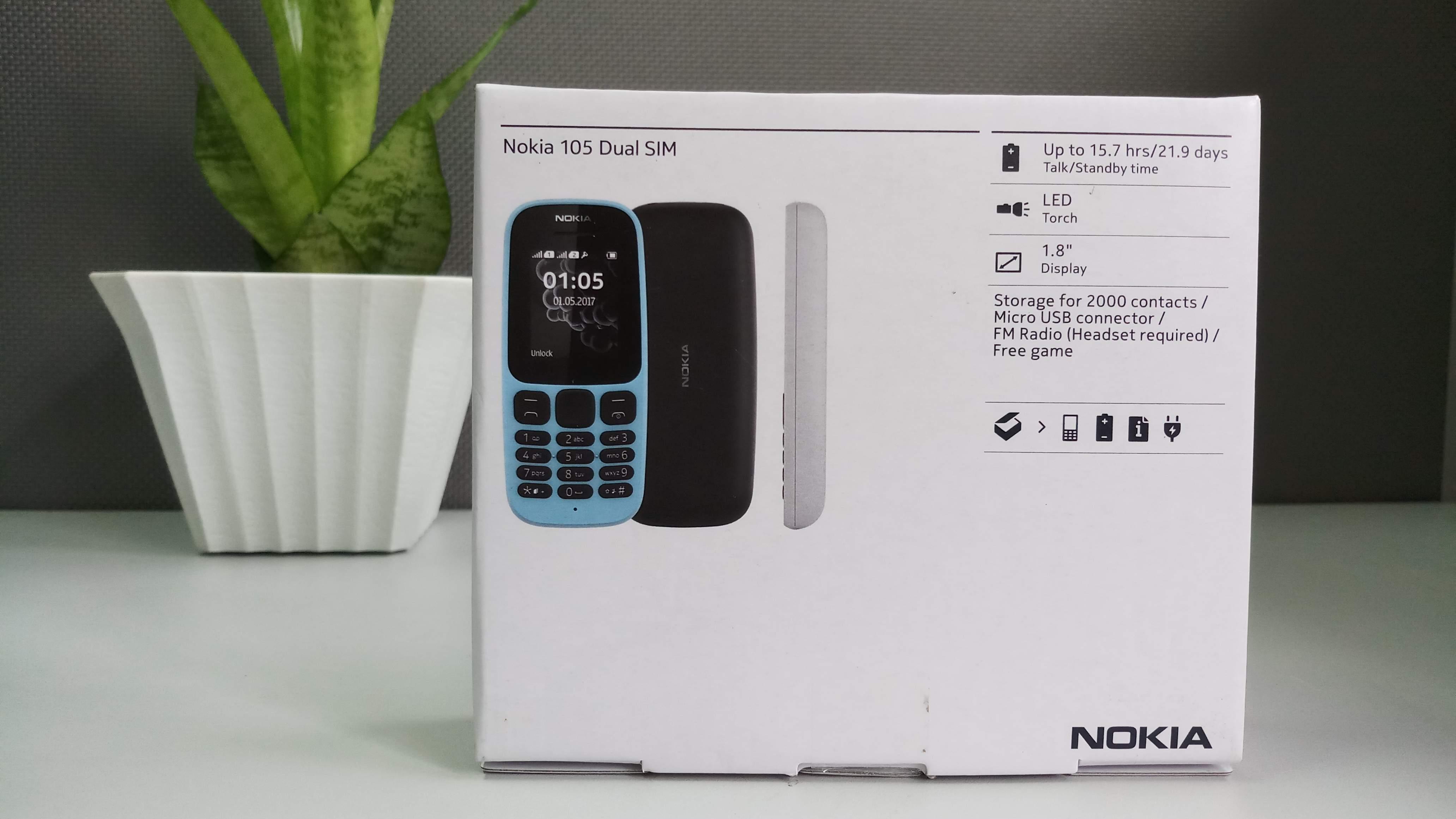 Nokia 105 Dual Sim (2017) hình sản phẩm 1
