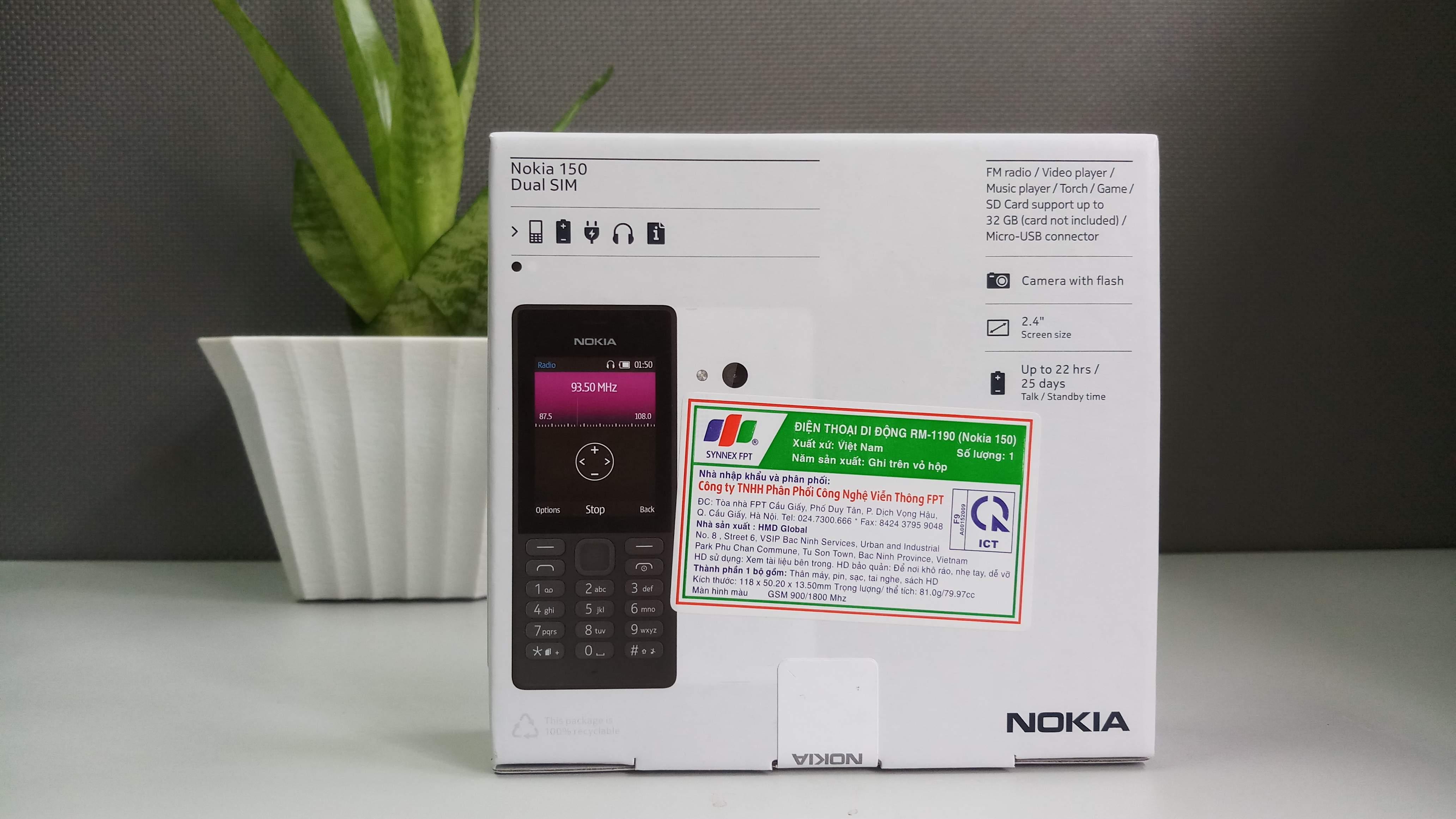 Nokia 150 (không thẻ nhớ) hình sản phẩm 0
