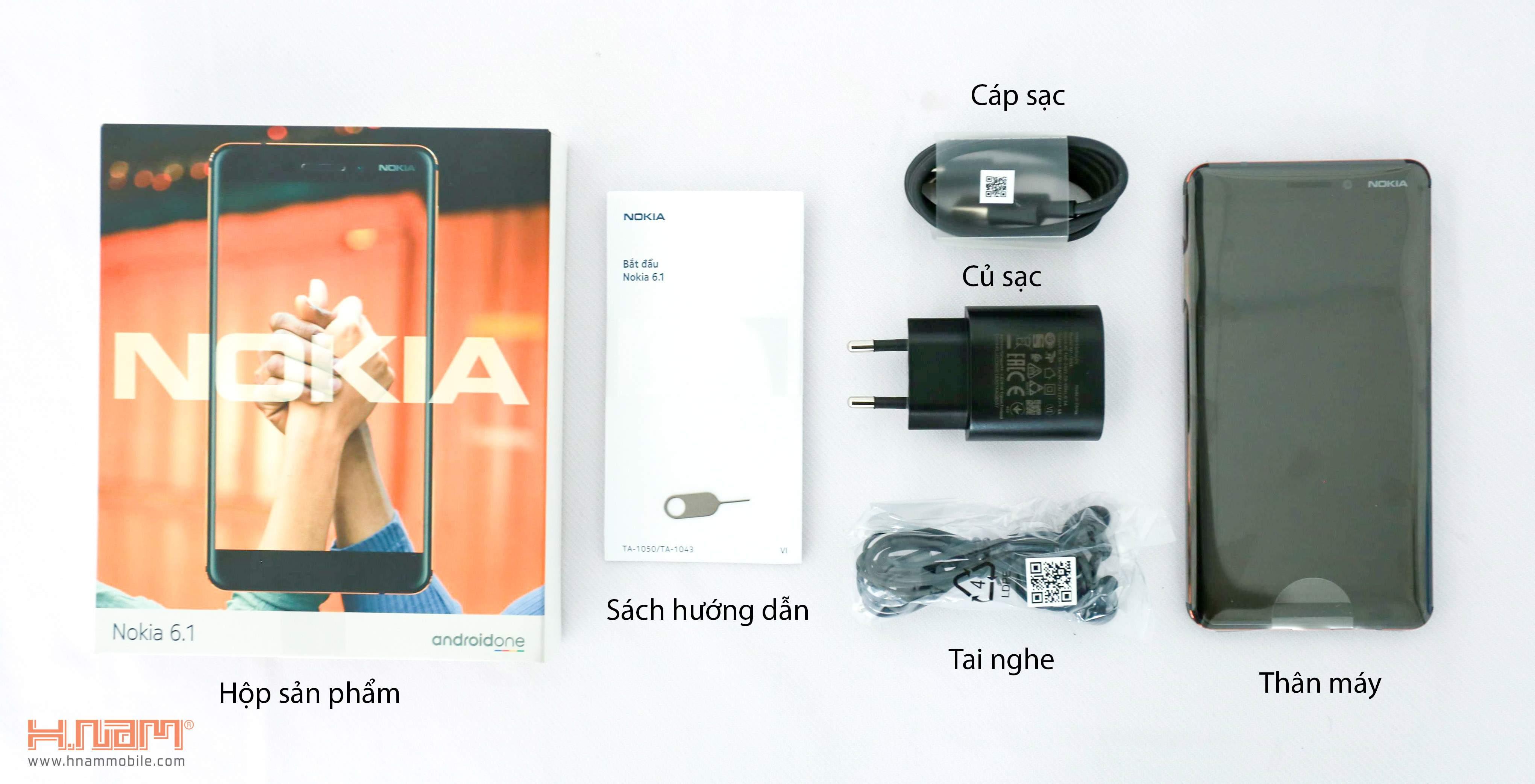Nokia 6 2018 hình sản phẩm 0