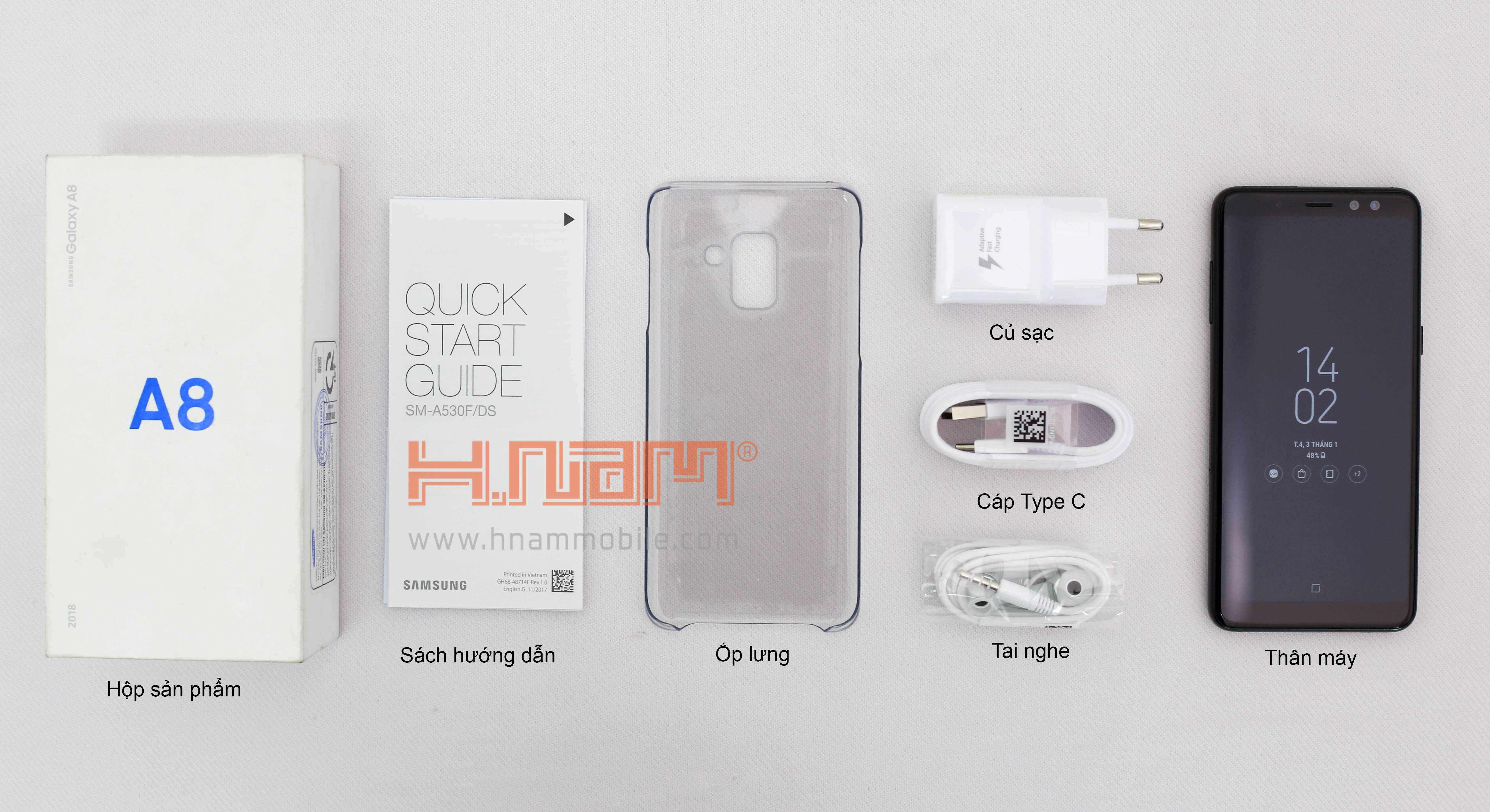 Samsung A8 Plus 2018 A730 hình sản phẩm 0