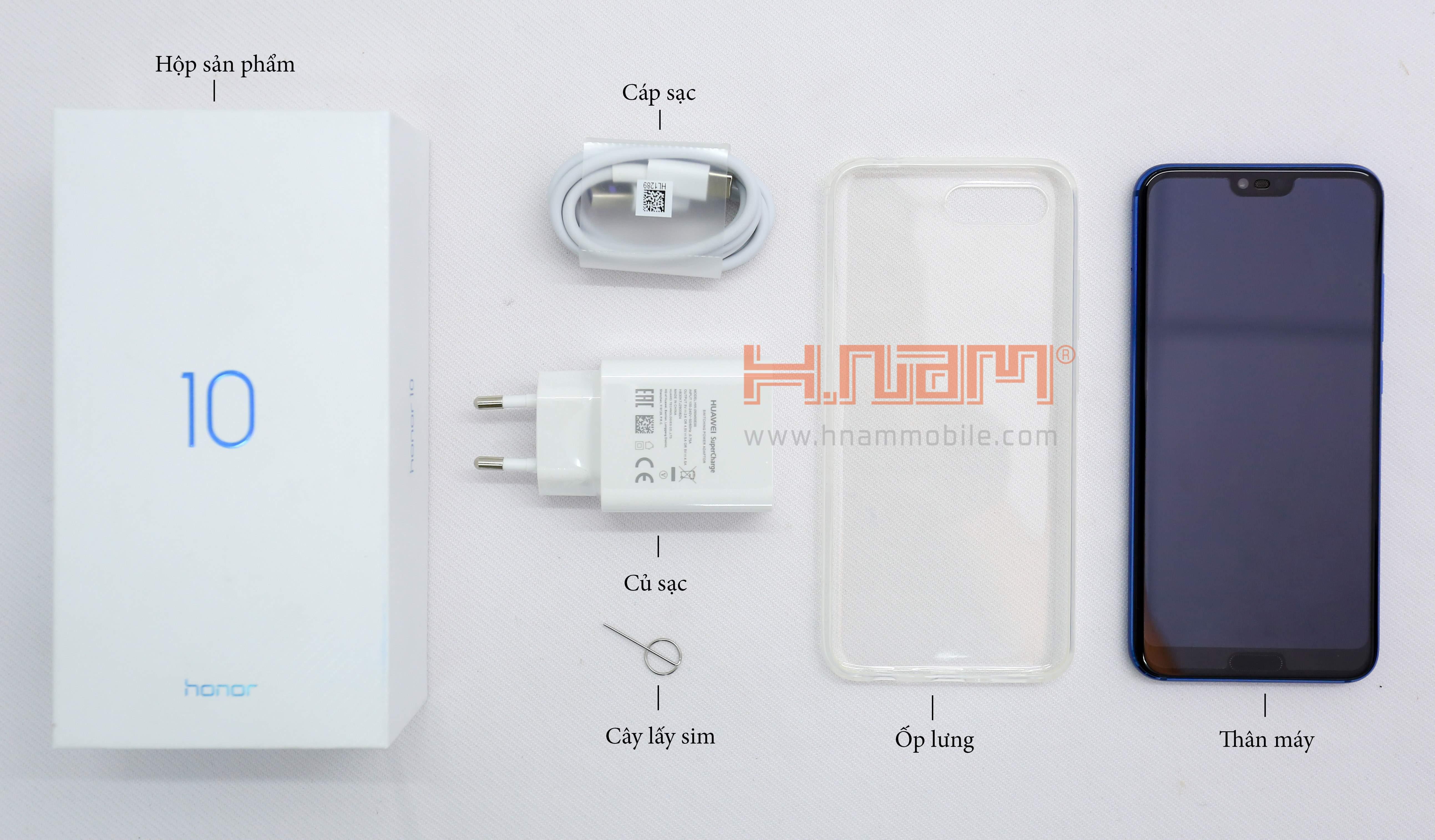 Honor 10 128Gb Ram 4Gb hình sản phẩm 0