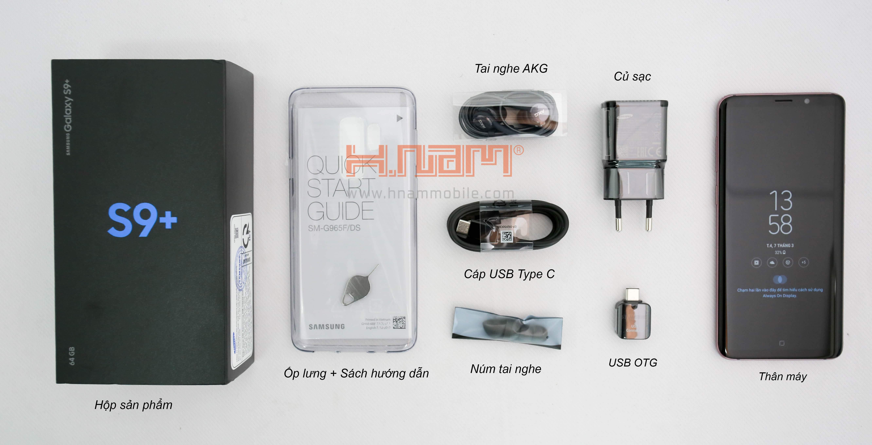 Samsung Galaxy S9 Plus G965 64Gb hình sản phẩm 0