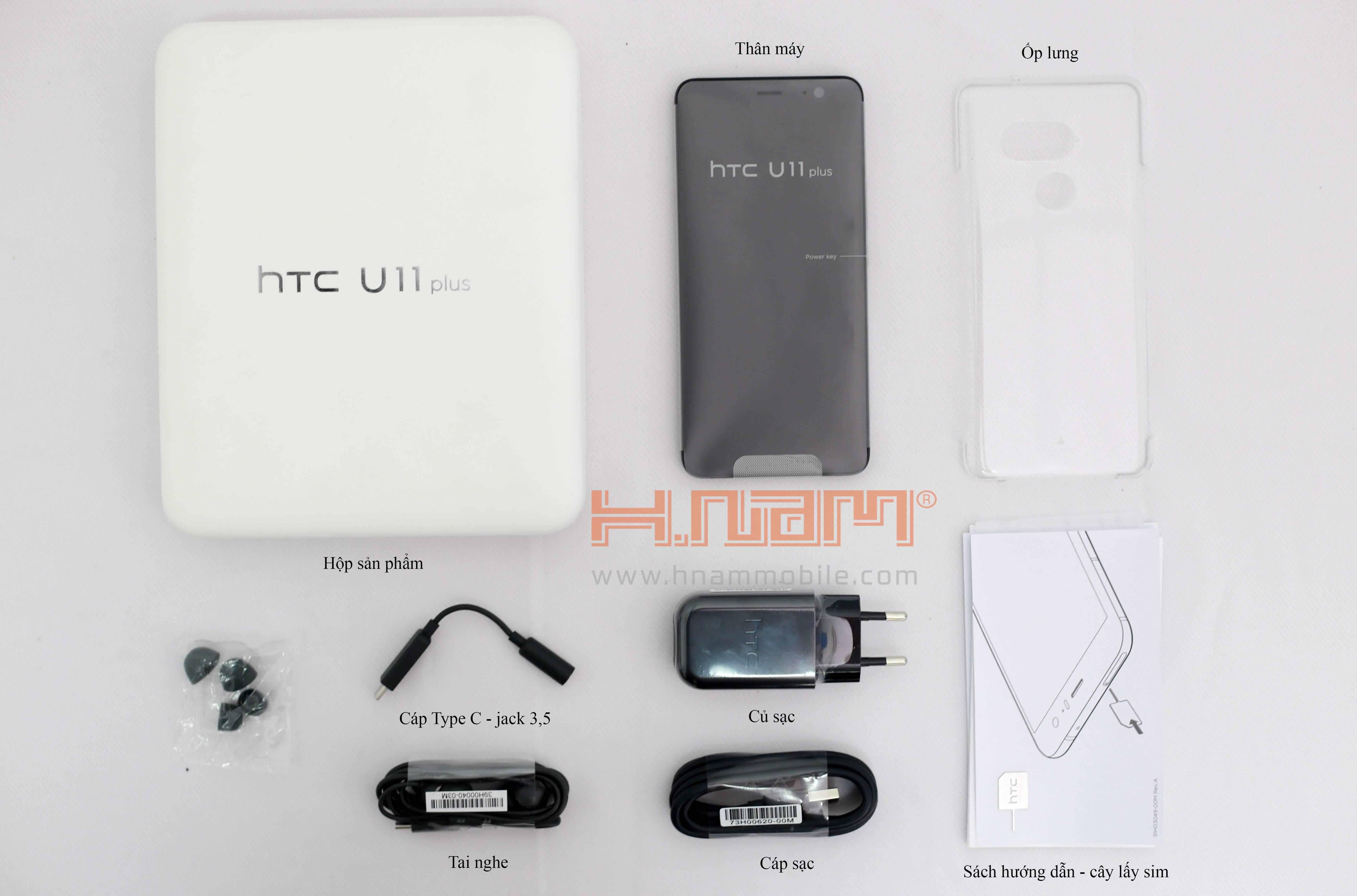 HTC U11 Plus hình sản phẩm 0