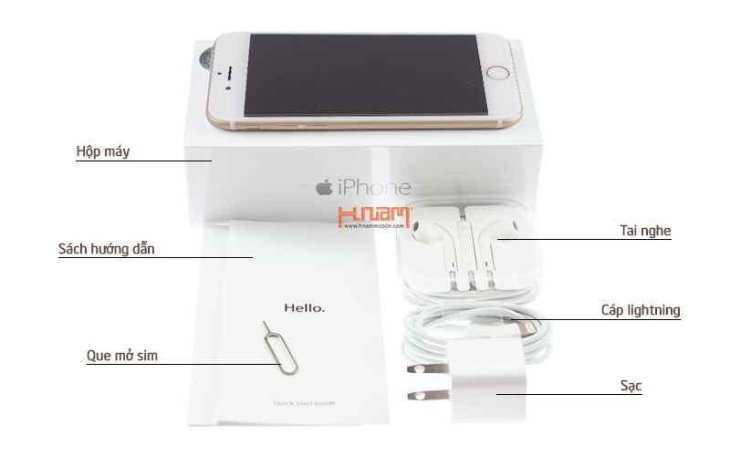 Apple iPhone 6S Plus 128Gb ( 67 TQK ) hình sản phẩm 0
