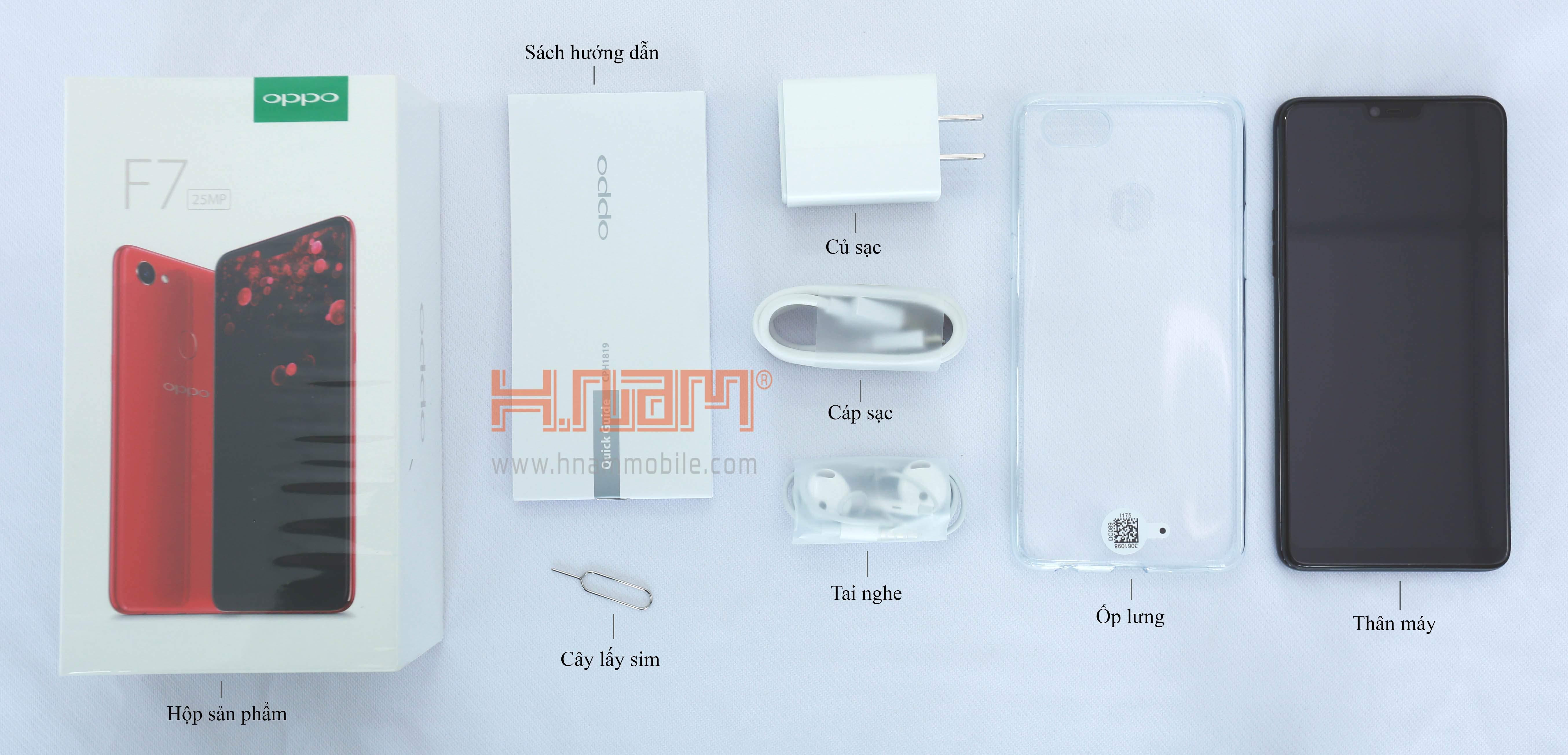 Oppo F7 128Gb hình sản phẩm 0