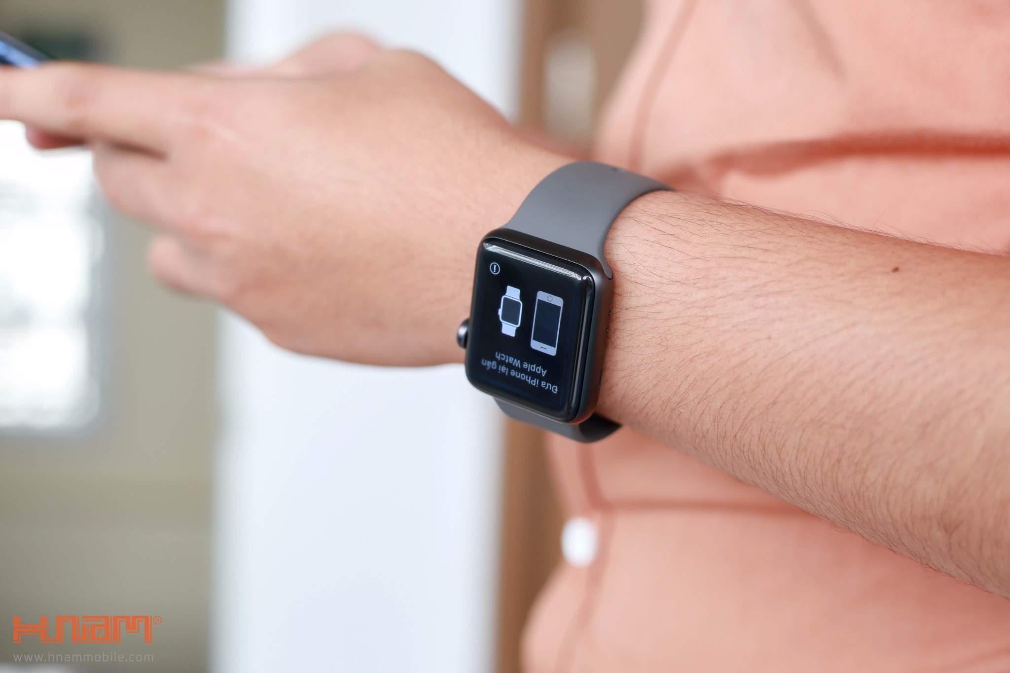Apple Watch Series 3 38mm Black LTE hình sản phẩm 0