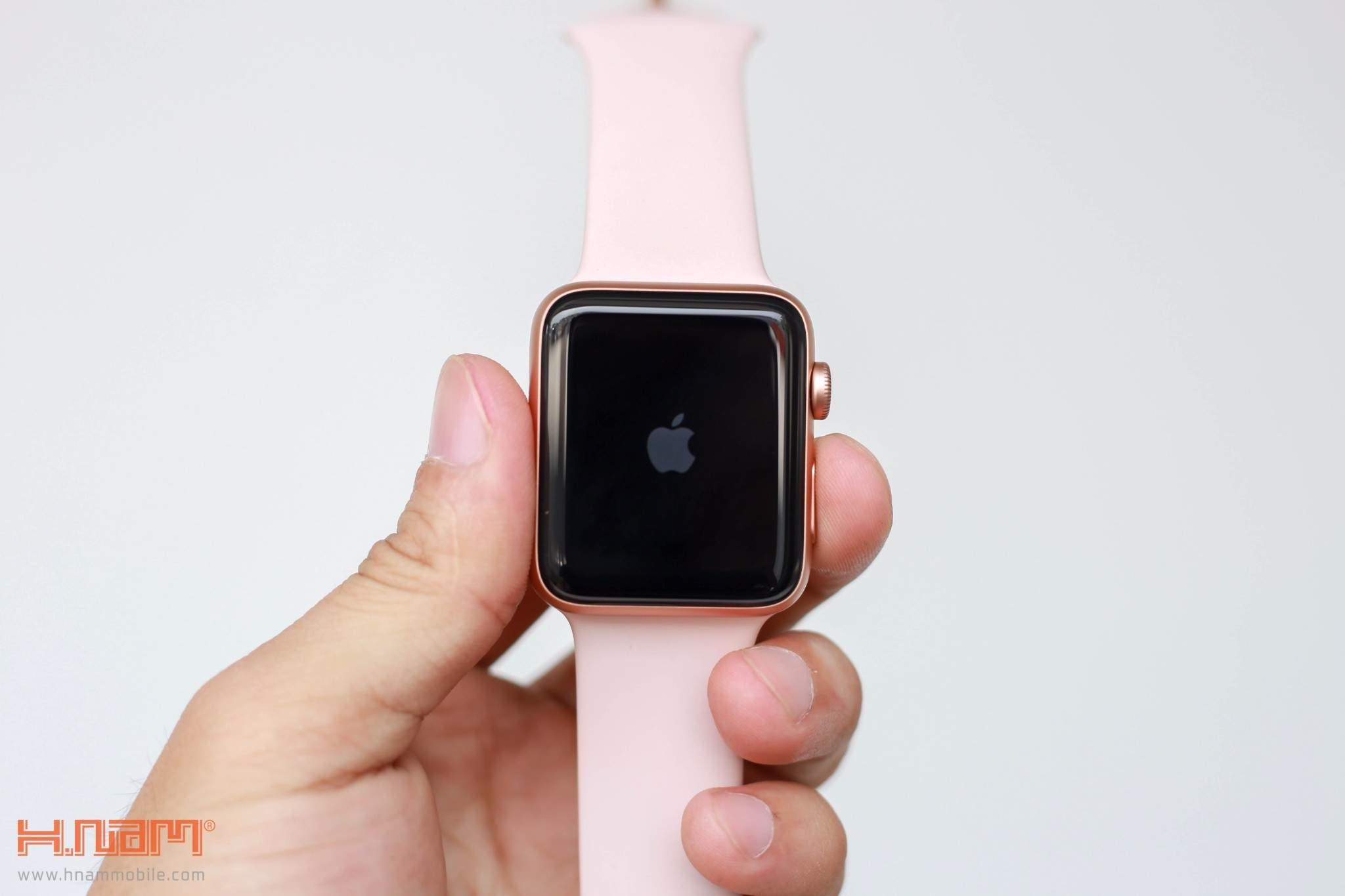 Apple Watch Series 3 42mm Pink LTE hình sản phẩm 1
