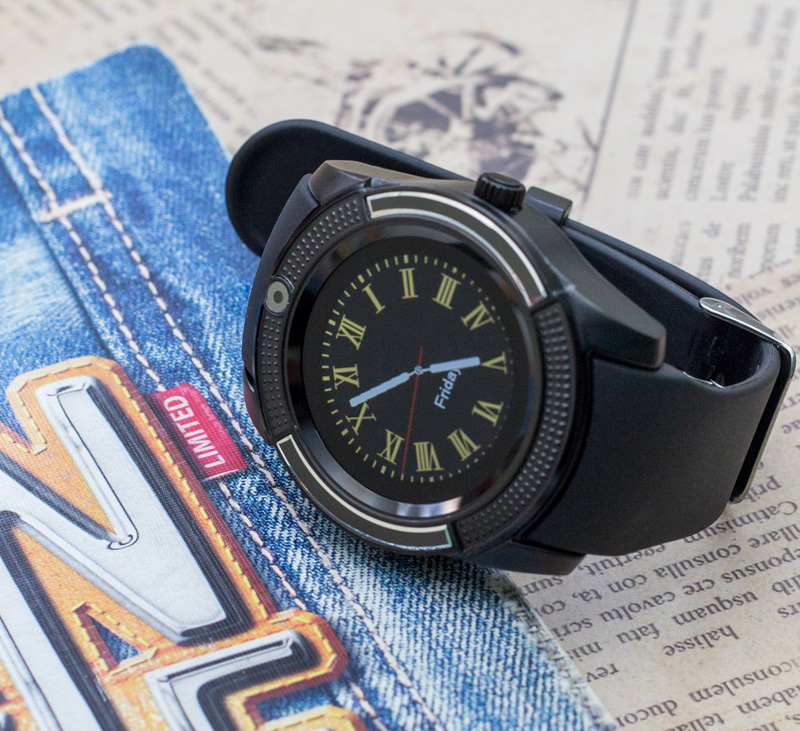 Đồng hồ thông minh V8S - JC30 hỗ trợ khe sim và thẻ nhớ hình 1