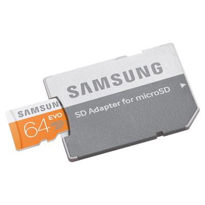 Samsung MicroSDHC 64GB Class 10 EVO UHS-1 hình 1