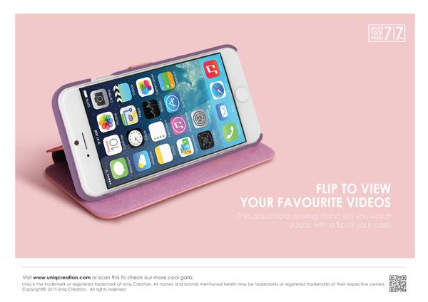 Bao da Uniq Lolita iPhone 7 hình 2