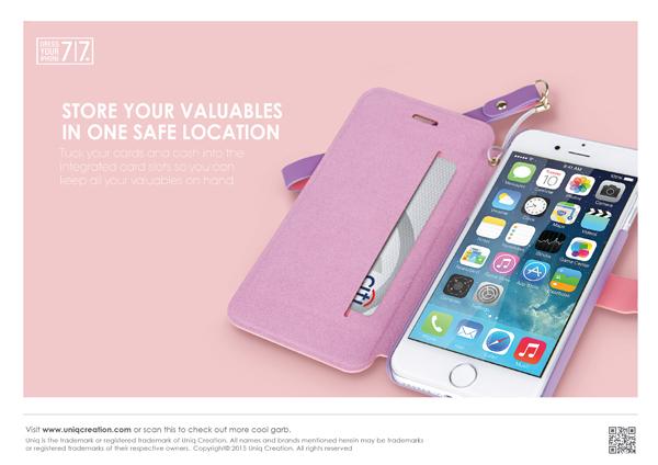 Bao da Uniq Lolita iPhone 7 hình 3