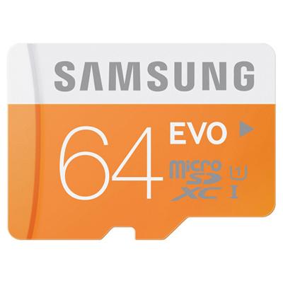 Samsung MicroSDHC 64GB Class 10 EVO UHS-1 hình 0