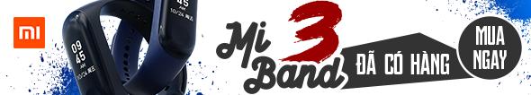 Xiaomi Mi Band 3 Đã Có Hàng