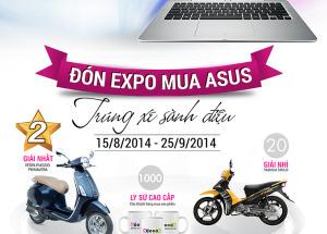 Đón Expo - Mua Asus - Trúng xe sành điệu.