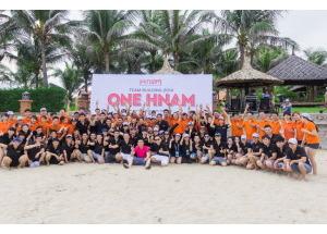 Hình ảnh Team Building Hnam Mobile - Mũi Né 2014