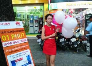 Hình ảnh trải nghiệm tốc độ cùng Huawei - Nhận quà hấp dẫn liền tay