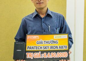 Lễ trao thưởng Trải nghiệm Sky A870, trúng ngay Sky A870.