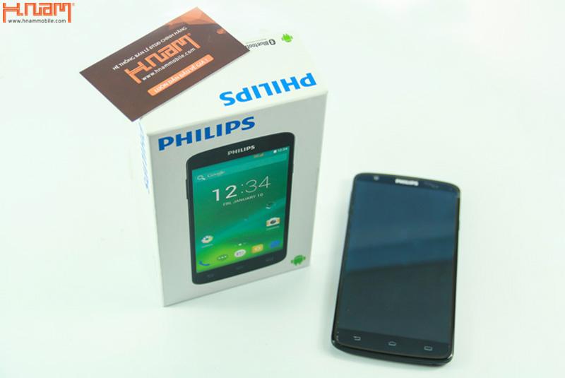 Mở hộp phablet Philips I928 chính hãng