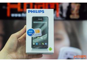 Mở hộp smartphone pin khủng của Philips W6610 tại Hnam Mobile