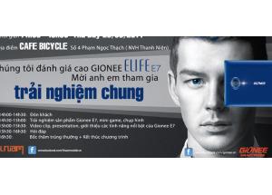 OFFLINE Trải nghiệm Gionee E7 và Bốc thăm trúng Smartphone.
