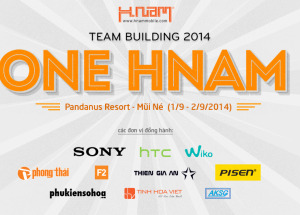 Team Building - One Hnam Mobile 2014.