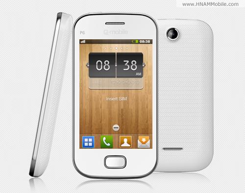 Q-Mobile P6 (2 sim) - Hình 3