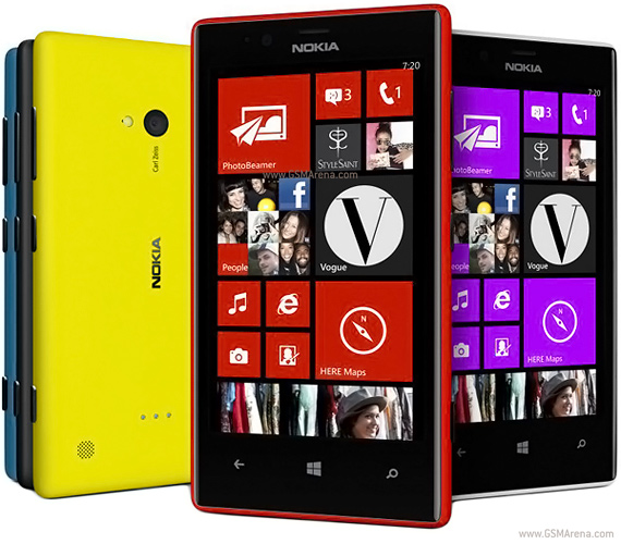 NOKIA Lumia 720 cũ hình 1