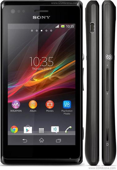 Sony Xperia M Dual hình 1