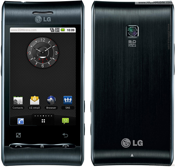 LG GT540 Optimus products