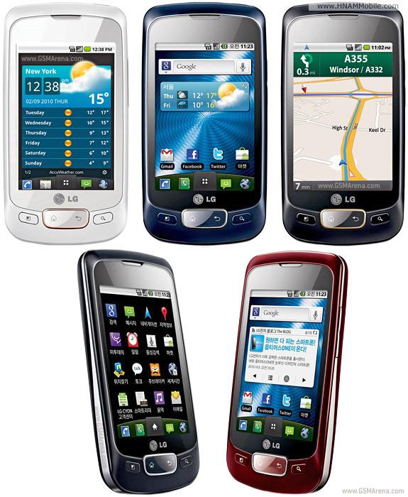 LG P500 Optimus One 1