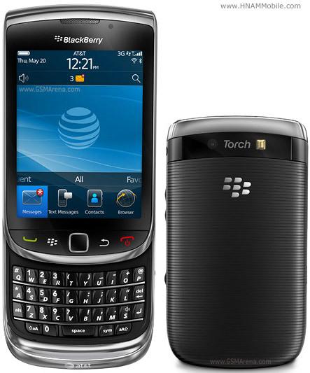 BLACKBERRY Torch 9800 1