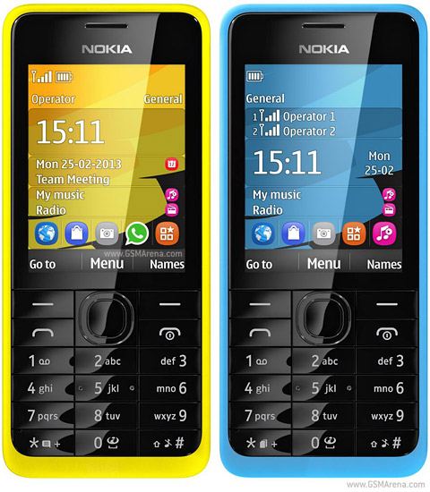 NOKIA 301 (2 sim) products