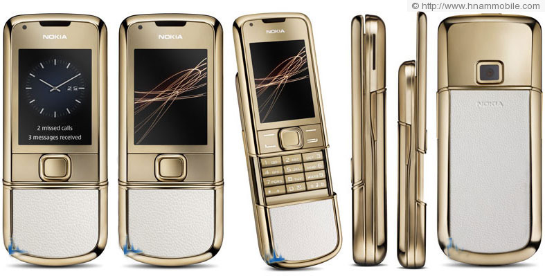 NOKIA 8800 Gold Arte products