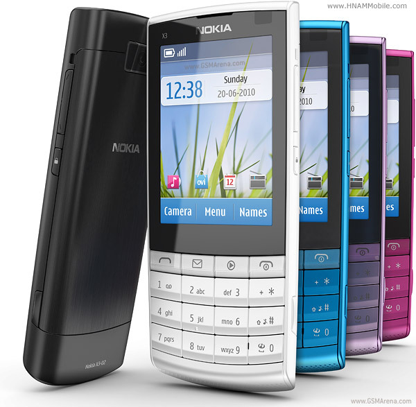 NOKIA X3-02 Touch and Type products