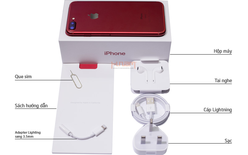Apple iPhone 7 Plus 128Gb Product Red Special Edition hình sản phẩm 0