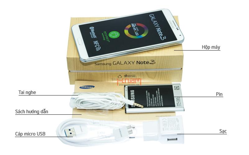 SAMSUNG Galaxy Note 3 Gold N900 32Gb hình sản phẩm 0
