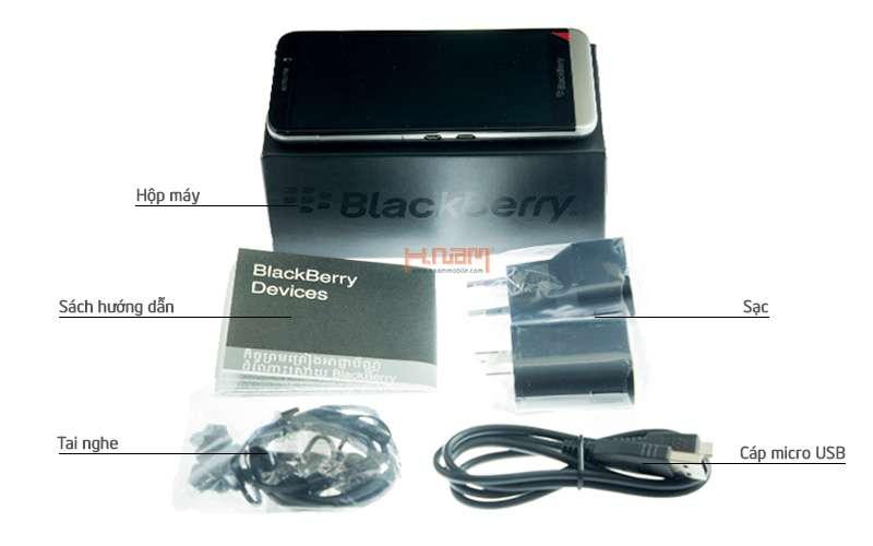 BlackBerry Z30 16Gb hình sản phẩm 0