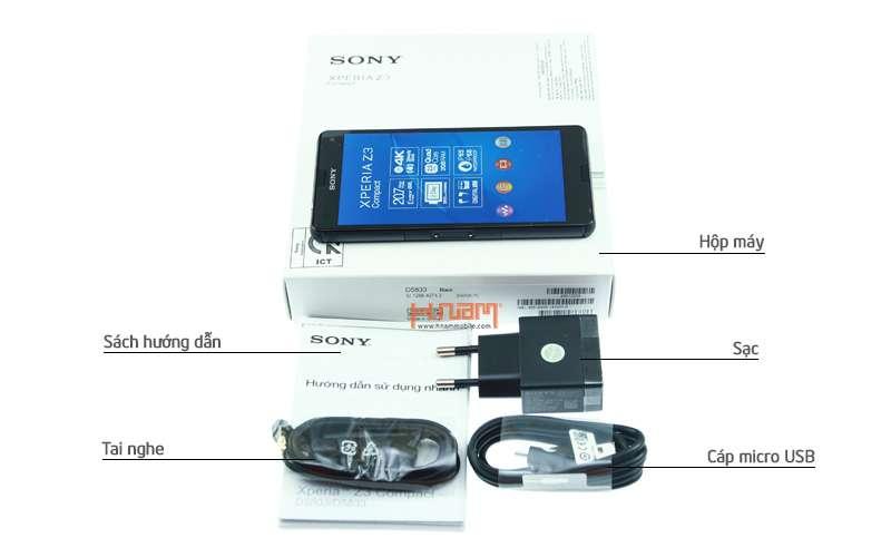 Sony Xperia Z3 Compact D5833 16Gb hình sản phẩm 0
